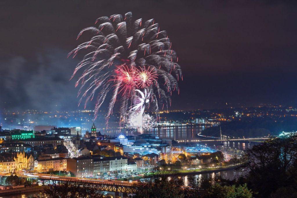 Derry Halloween is the biggest Halloween festival in Europe.