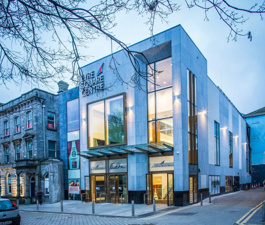 Eyre Square Centre lies at the heart of County Galway.