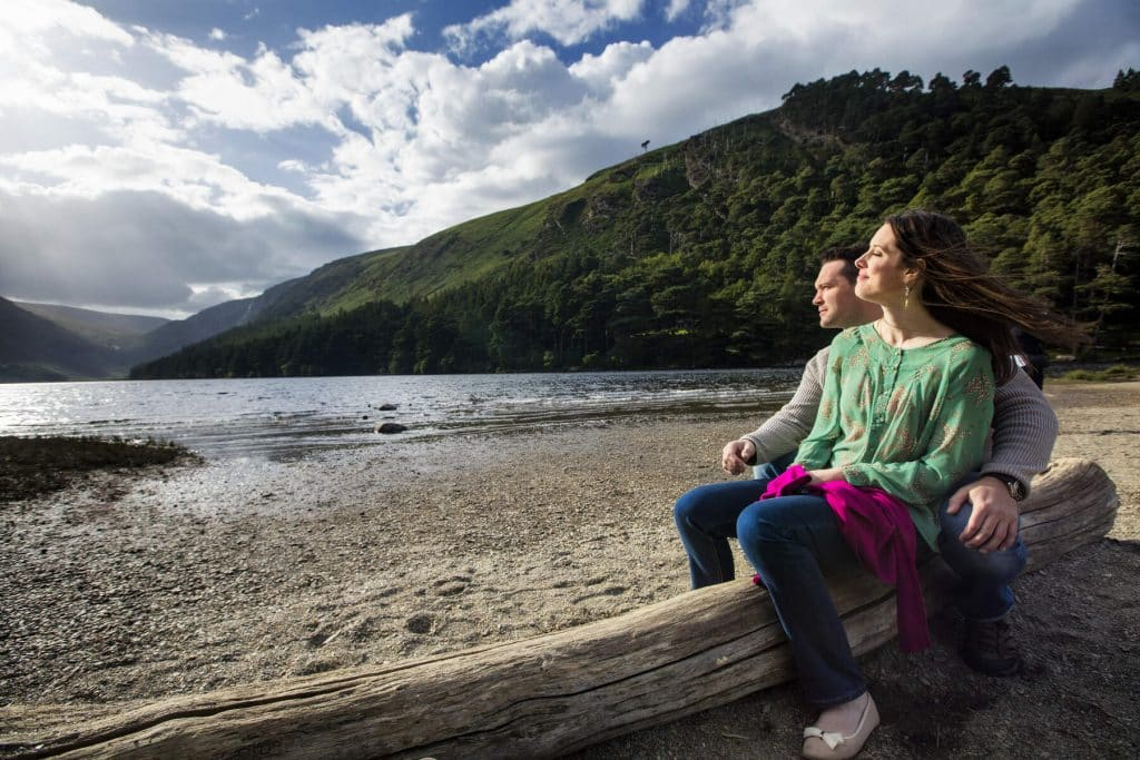 Pay a visit to Glendalough with your loved one.