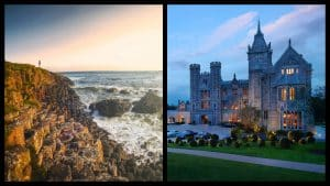 These are the ten best places for a honeymoon in Ireland.