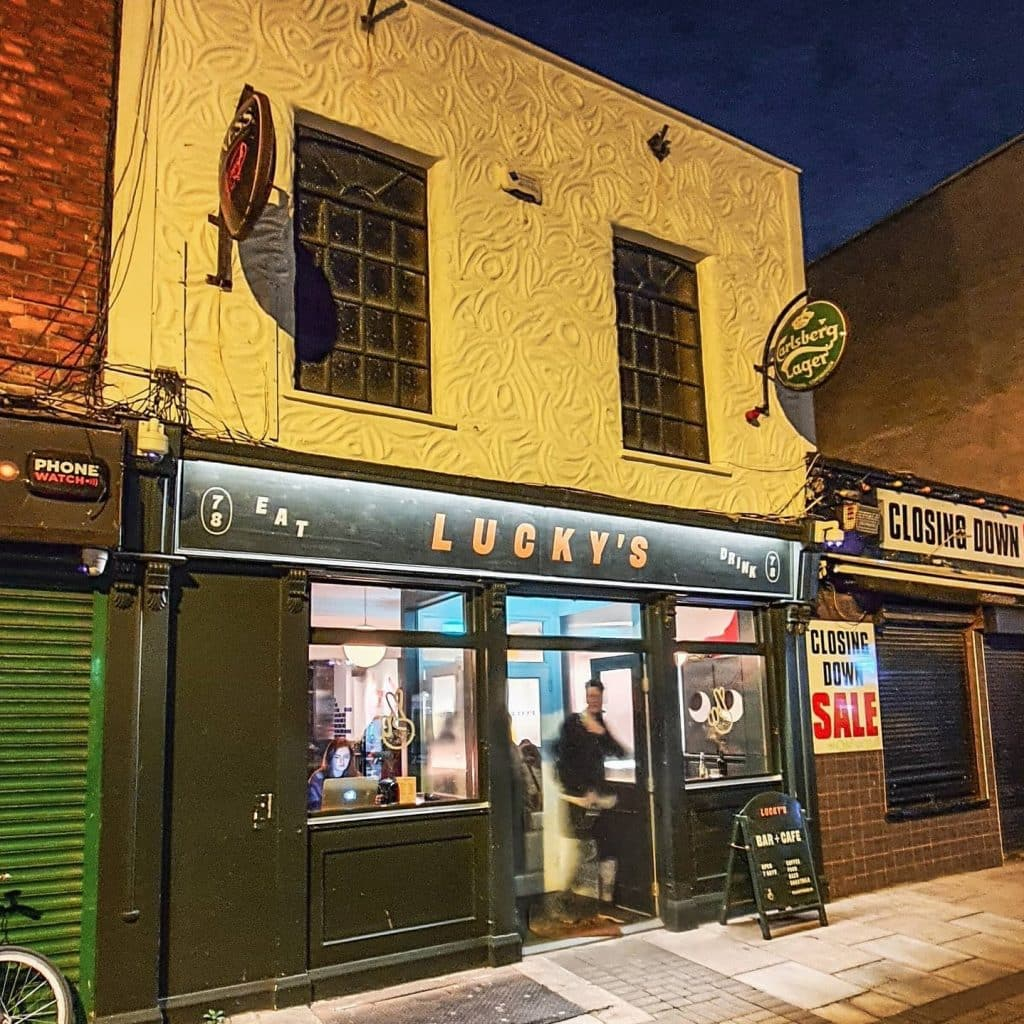 Lucky's is one of the best things to do in Dublin 8.