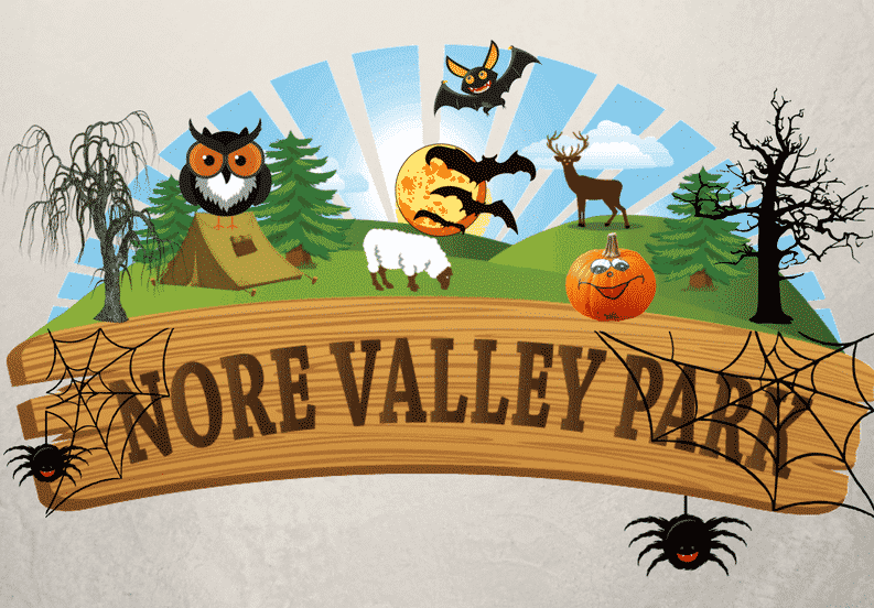 Nore Valley Park offers one of the best Halloween events in Ireland.