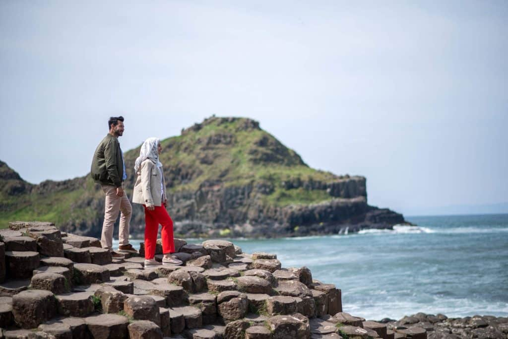 You need to visit the Giant's Causeway.