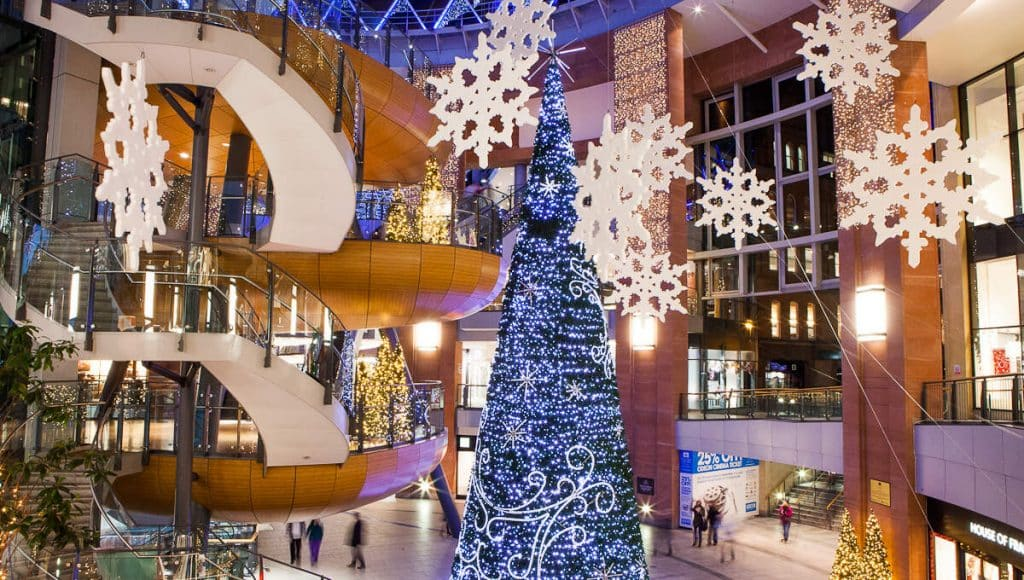 Victoria Square is one of the best places to go Christmas shopping in Ireland.