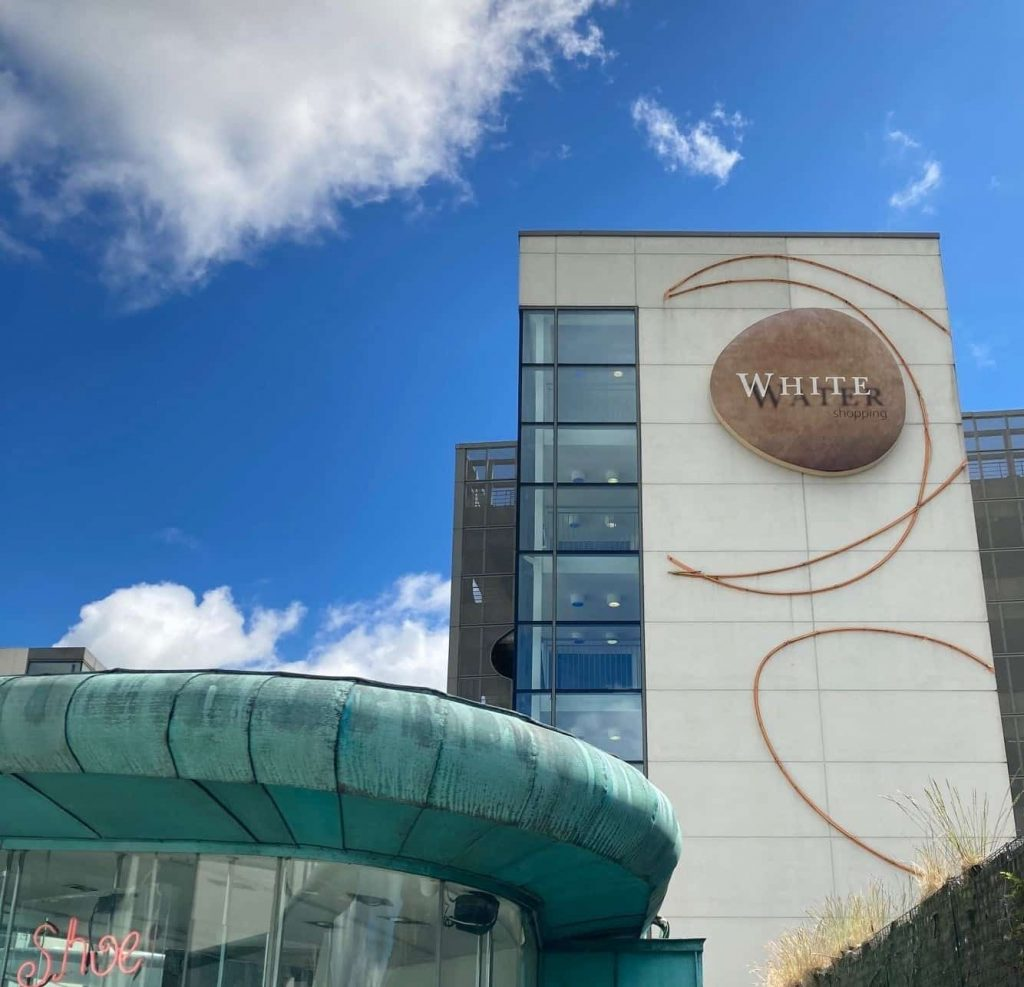 Whitewater Shopping Centre is one of the best places to go Christmas shopping in Ireland.
